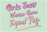 Equal Pay Pósters