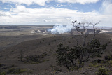 Kilauea Crater in Hawaii Volcanoes National Park Photographic Print by Anne Keiser