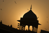 The Dome of the Jama Masjid Mosque in Old Delhi Photographic Print by Steve Winter