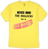 Sex Pistols - Yellow Nevermind The Bullocks T-Shirt