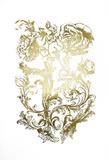 Gold Foil Flora & Filigree Prints by Naomi McCavitt