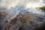 More Than a Third of Yellowstone Sits Within the Caldera of an Active Volcano Photographic Print by Michael Nichols