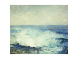 Crashing Waves Giclee Print by Soren Emil Carlsen