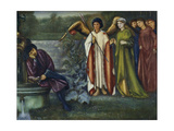 Chaucer's Dream of Good Women. 1865 Giclee Print by Sir Edward Burne-Jones
