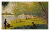Study for a Sunday on La Grande Jatte Giclee Print by Georges Seurat