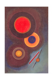 Composition with Circles and Lines. 1926 Giclee Print by Wassily Kandinsky