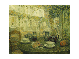 The Stone Table. 1919 Giclee Print by Henri Le Sidaner