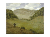 Silent Valley. Stilles tal. 1882 Giclee Print by Hans Thoma