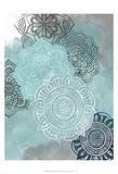 Ink Blot Mandala II Poster von Grace Popp
