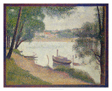 Gray Weather, Grande Jatte Giclee Print by Georges Seurat