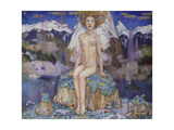 Love in the Alps Giclee Print by Edward Reginald Frampton