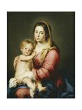 The Virgin and Child Giclee Print by Bartolomé Estéban Murillo