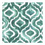 Aquamarine Motif IV Giclee Print by Grace Popp