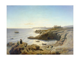 Küste bei Syrakus. 1861 Giclee Print by Andreas Achenbach