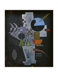 In the form of a cross. 1926 Giclee Print by Wassily Kandinsky