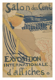 Salon des Cent-Exposition Internationale d'affiches Giclee Print by Henri de Toulouse-Lautrec