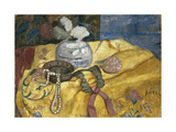 Still life with pearls and vase. 1902 Giclee Print by Paula Modersohn-Becker