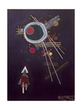 Ray lines. 1927 Giclee Print by Wassily Kandinsky
