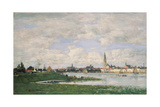 View of Antwerp. 1871 Giclee Print by Eugène Boudin