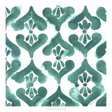Aquamarine Motif II Giclee Print by Grace Popp