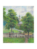 Saint Anne's Church, Kew, London. 1892 Reproduction procédé giclée par Camille Pissarro