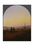 Easter walk (Osterspaziergang). 1821 Giclee Print by Carl Gustav Carus