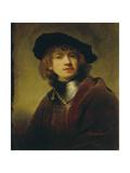 Self Portrait. 1634 Giclee Print by  Rembrandt van Rijn