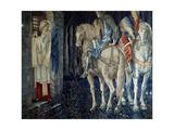 Sir Gawain und Sir Ewain scheitern auf der Suche nach dem Heiligen Gral Giclee Print by Sir Edward Burne-Jones