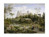 Santa Maria Maggiore in Rom. Um 1808 Giclee Print by Joseph Anton Koch