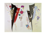 Wechselseitiger Gleichklang (Accord réciproque). 1942 Giclee Print by Wassily Kandinsky