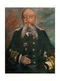 Alfred von Tirpitz. 1917 Giclee Print by Lovis Corinth