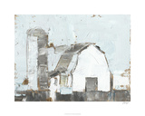 Barn & Silo II Limited Edition by Ethan Harper