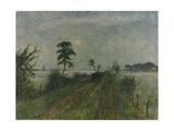 Abendstimmung im Moor. 1941 Gicléetryck av Otto Modersohn