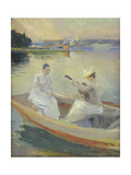 Summer Evening, Borga Harbour. 1889 Giclee Print by Albert Edelfelt