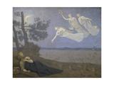Der Traum. 1883 Giclee Print by Pierre Puvis de Chavannes