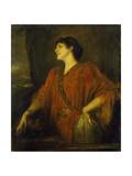The Wife of Franz von Stuck as Salome. 1894 Giclee Print by Franz Von Lenbach