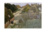Alt-Worpswede. 1903 Giclee Print by Otto Modersohn
