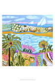 Palm Retreat Print by Karen Fields
