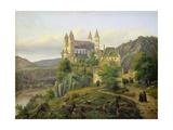 Arnstein Abbey. 1835 Giclee Print by Carl Friedrich Lessing