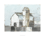 Barn & Silo I Limited Edition by Ethan Harper