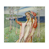 Spring. 1911 Giclee Print by Edward Reginald Frampton