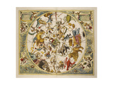 Atlas Coelestis Seu Harmonia Macrocosmica. Engraved Celestial Atlas By Andreas Cellarius Giclee Print by Andreas Cellarius
