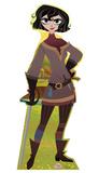 Cassandra - Disney's Tangled the Series Cardboard Cutouts