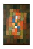 Static-Dynamic Gradation (Statisch-Dynamische Steigerung). 1923 Giclee Print by Paul Klee