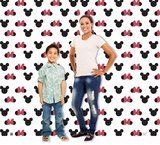 Mickey and Minnie Ears Step and Repeat - Double Wide Cardboard Cutouts
