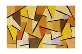 Harmonisierter Kampf. 1937, 206 Giclee Print by Paul Klee