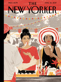 A Taste for Adventure - The New Yorker Cover, April 24,2017 Premium Giclee Print by Cannaday Chapman