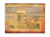 Miraculous Landing, or the '112!' (Wunderbare Landung, oder '112!'). 1920, 179 Giclee Print by Paul Klee