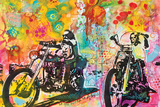 Easy Rider By Dean Russo Posters by Russo Dean