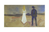 To mennesker. De ensomme (Reinhardt-frisen). Two Human Beings. The Lonely Ones Giclee Print by Edvard Munch